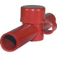 Blue Sea Systems Dual Entry CableCap, Red