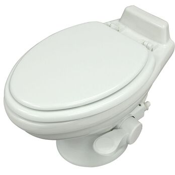 Dometic High Profile 320 Series Gravity Discharge Toilet - White