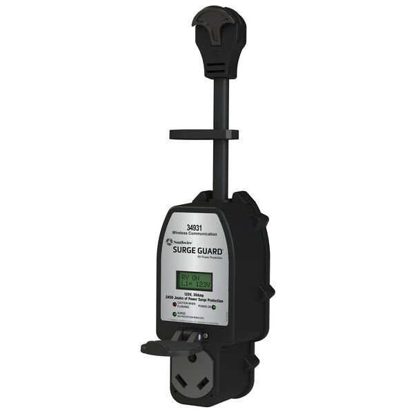 Southwire Surge Guard® Portable 30-Amp 120-Volt Wireless Communication-Capable Surge Protector