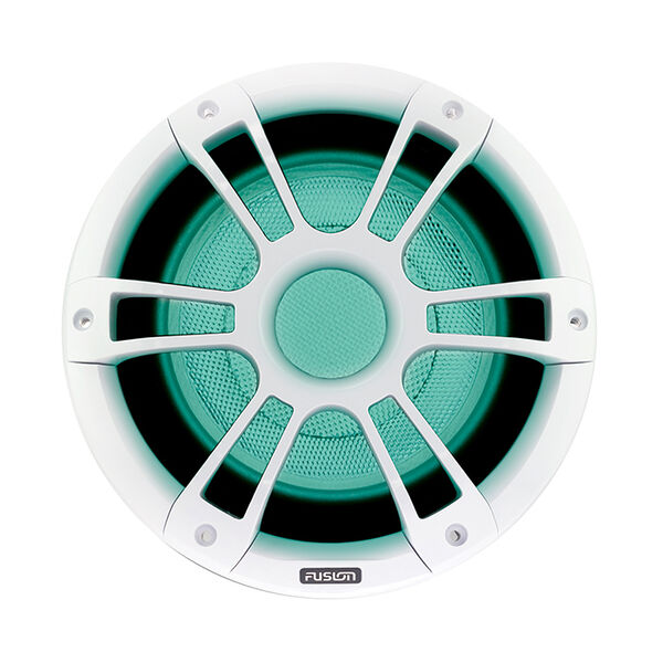 """FUSION Signature Series 3 - 10"""" Subwoofer - White Sports Grille"""