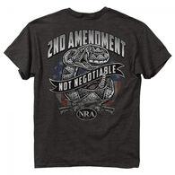 Buck Wear Men's NRA Non- Negotiable Short-Sleeve Tee