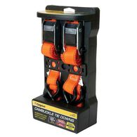 "Cambuckle 12'L x 1""W Tie Downs, 2-Pack"