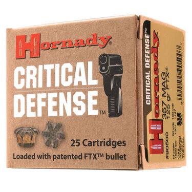 Hornady Critical Defense FTX Handgun Ammo, .38 Spec. +P