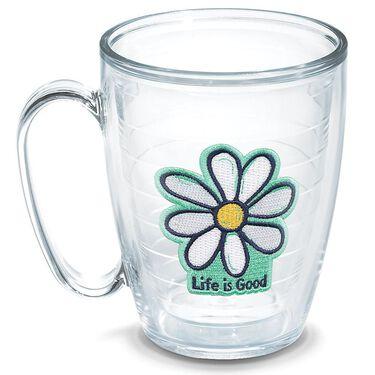 Tervis® Mugs, 15 oz., Life is Good Flower Design