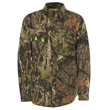 Hunter's Choice Men's Camo Button-Up Shirt, Mossy Oak Break-Up Country