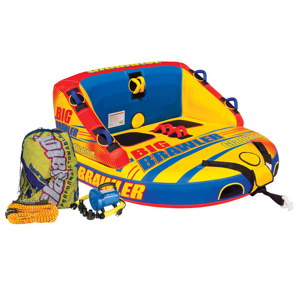 Gladiator Big Brawler 2-Person Towable Tube Package