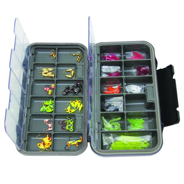Clam Dual Tray Jig Box