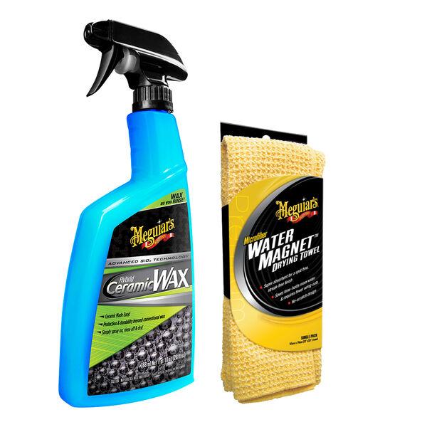 "Meguiar's Hybrid Ceramic Wax w/Water Magnet Microfiber Drying Towel - 22"" x 30"""