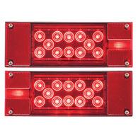 Optronics Red LED Combination Tail Light Kit, 18-22 LED
