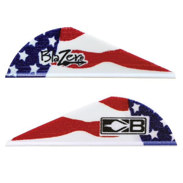 """Bohning 2"""" Blazer Vanes, American Flag, 36-Pack"""