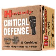Hornady Critical Defense Handgun Ammo, .45 Long Colt, 185-gr., FTX, 20 Rounds
