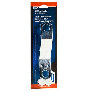 RV Water Heater Drain Plug Kit