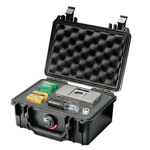 Pelican 1120 Case With Pick 'N Pluck Foam, Black