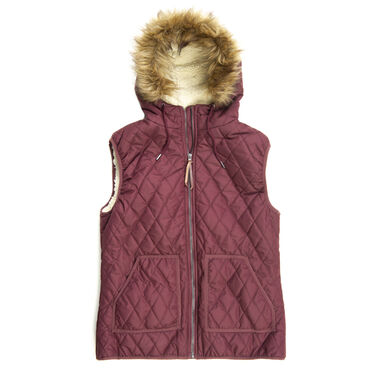 Ultimate Terrain Women's Marion Quilted Insulated Vest