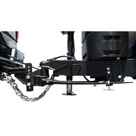 Blue Ox BXW1350 TrackPro Weight Distributing Hitch, Standard Shank, 7-Hole, 1300-lb. Tongue Weight