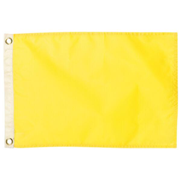 "Signal Flag Yellow, 12"" x 18"""
