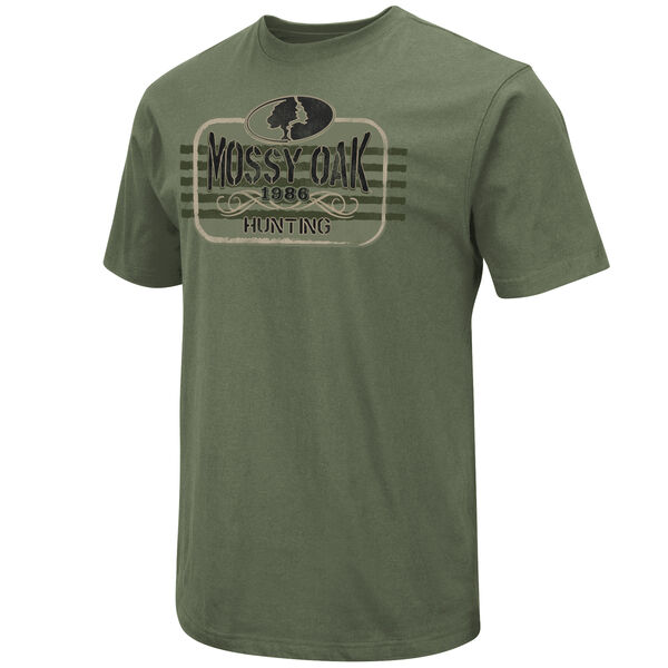 Mossy Oak Men's Hunting Logo Short-Sleeve Tee