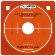 "Champion Targets Center Mass 3/8"" Square 8"" AR500 Steel Target"