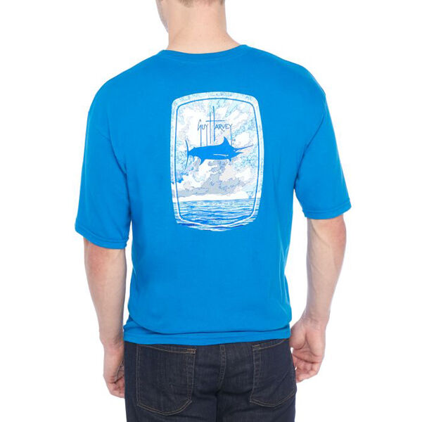 Guy Harvey Men's BOMBSHELL Short-Sleeve Tee