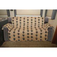 "Paw Print Furniture Protector, Sofa, Seat Width- 68"""