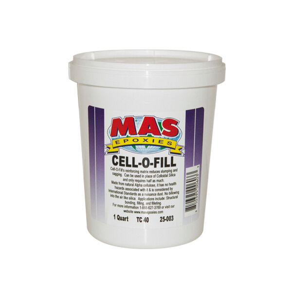 MAS Epoxies Cell-O-Fill, Quart