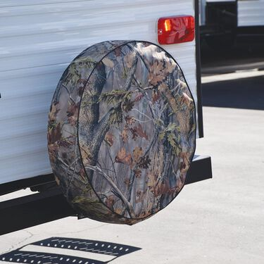 """Camouflage Spare Tire Cover, 25.5"""""""