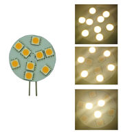 Bee Green LED 3-way 12 Volt LED Light Bulb, 2-Pack