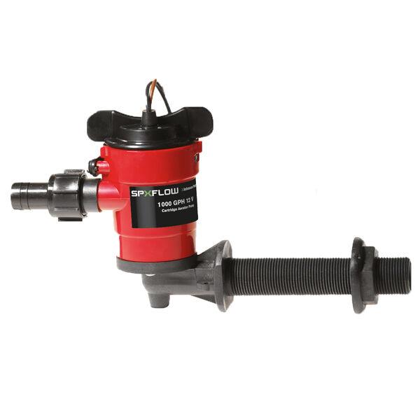 Johnson Pump 1000 GPH Cartridge Aerator Pump, 90° Intake