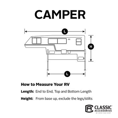 Classic Accessories PolyPro 3 RV Cover