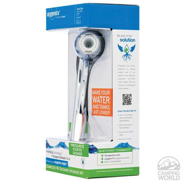 BodySpa RV Shower Kit, Chrome