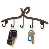 Leaf Key Rack, Bronze Finish