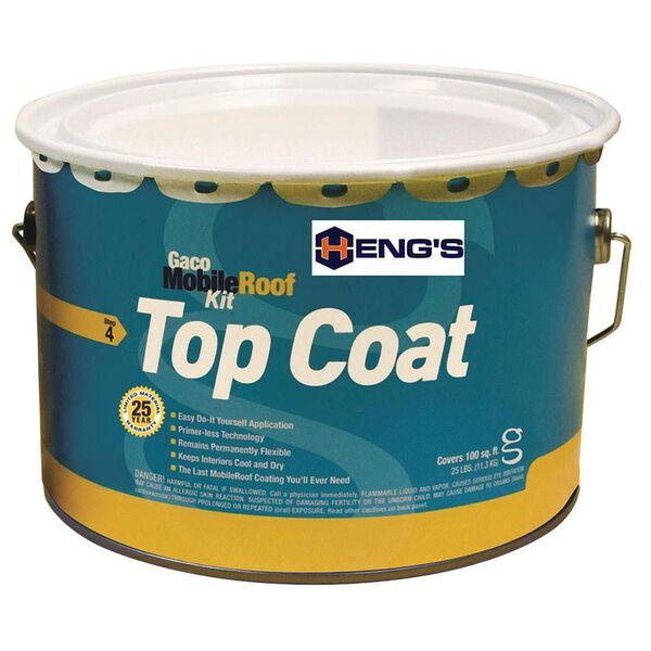 Heng's Gaco MobileRoof Top Coat, 2.5 Gallon
