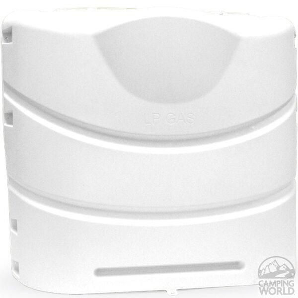 20 lb Heavy Duty Propane Tank Cover, Polar White