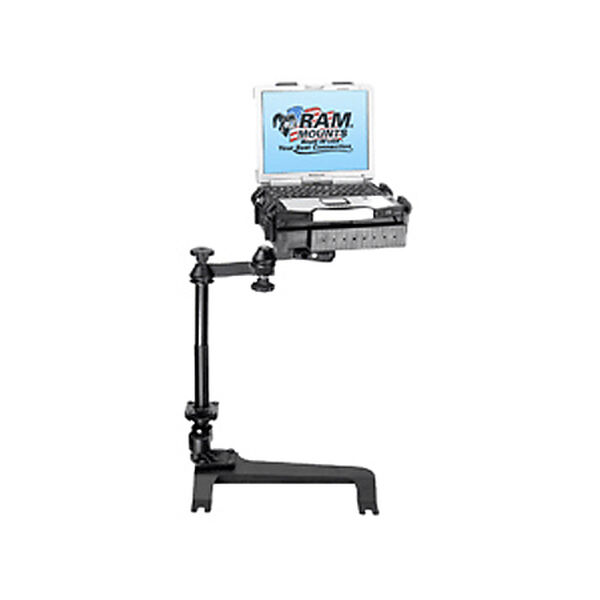 RAM Mount Vehicle System With Tough Tray For Newer Chevy Trucks
