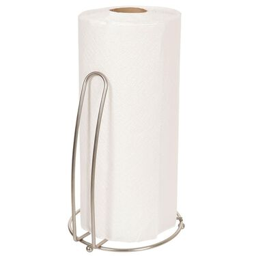 Brushed Nickel Paper Towel Holder