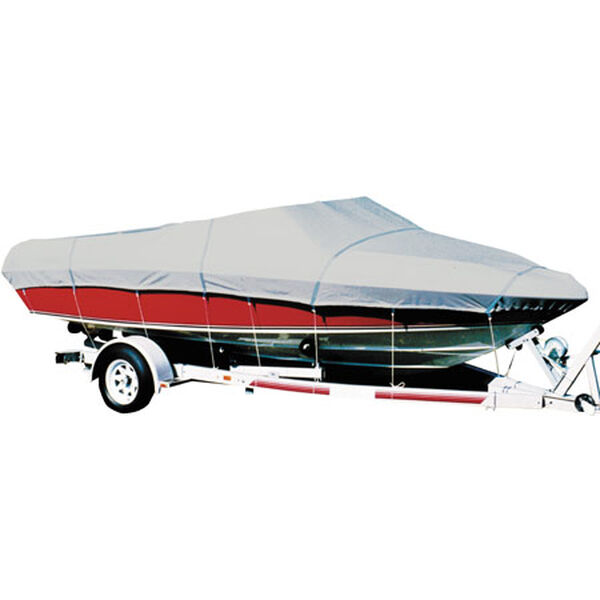 "Sharkskin V-Hull Fishing Boat Cover, 14'6""-15'5"" x 72"""