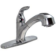 "8"" Pull-out Kitchen Faucet, Chrome"