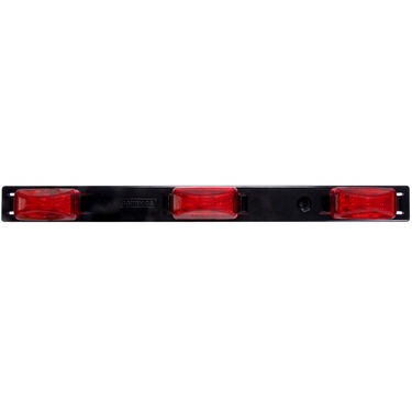 Optronics LED Identification Light Bar With Plastic Base, 3-Diode Lights
