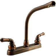 Dura Faucet Classical Hi-Rise RV Kitchen Faucet, Oil Rubbed Bronze