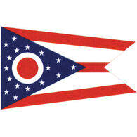 "Ohio State Flag, 12"" x 18"""