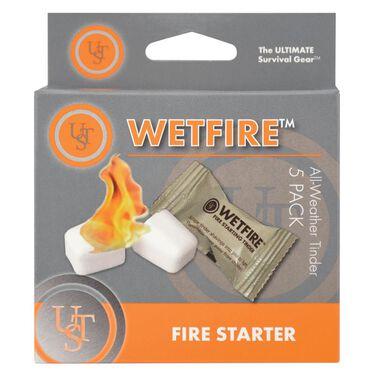 Ultimate Survival Technologies WetFire Tinder, 5-Pack