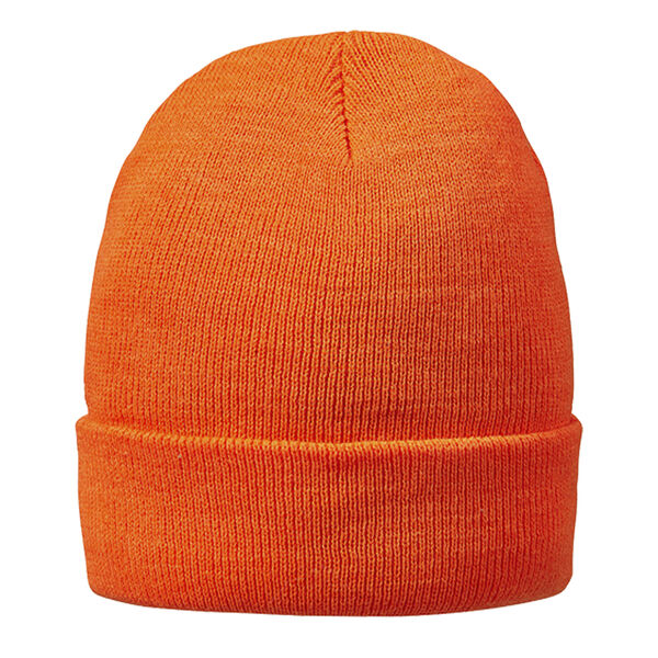 HOT SHOT Men's Two-Ply Cuff Blaze Orange Cap