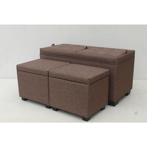 3-Piece Ottoman Set