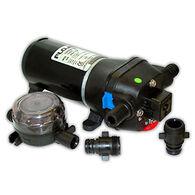 FloJet Heavy-Duty Deck Wash Pump With Nozzle, 40 PSI