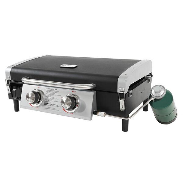 Razor Portable 2-Burner LP Gas Griddle with Lid