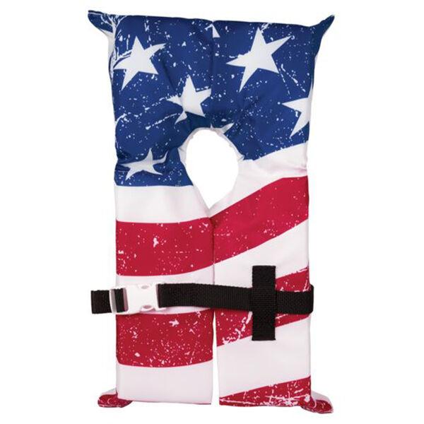 Airhead Type II Stars & Stripes Life Vest with Storage Bag