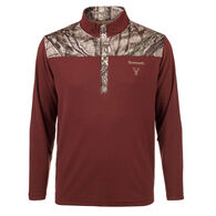 Huntworth Men's Lightweight Fleece Henley