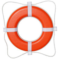 "Life Ring USCG Approved, Orange (20"")"