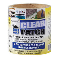 """Quick Roof Clear Patch, 4"""" x 6"""" Roll"""