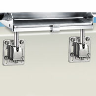 Square/Flat Rail Mounting Bracket - Dual Square/Flat Rail Mount, pair